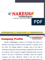 Naresh i Technologies Profile