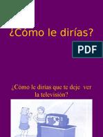Como_le_dirias.ppt