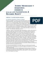 Rorty-Escritos Filosoficos2 -III1-Freud y La Reflexion Moral