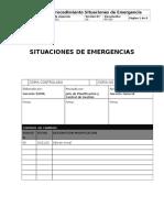 Pr-303 Situaciones de Emergencias