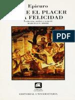 Epicuro - Sobre el placer y la felicidad.pdf