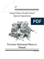 US Boarder Patrol Sniper Program
