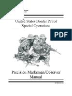 US Boarder Patrol Sniper Program