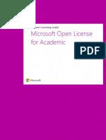 Open License for Academic VLGuide