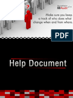 Active Directory Audit Help Document