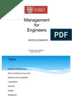 Lecture 02 Micro Economics