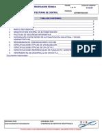 Especificacion Tecnica Arquitecturas de Control