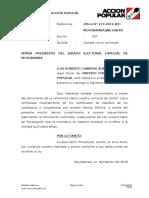 Cumple Mandado - Publicación - AP