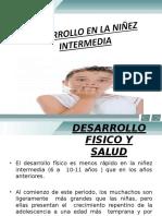 Desarrollo Físico Niñez Intermedia