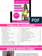 eBook Grátis 20 Receitas Fitness Para Ganhar Massa Muscular e Queimar Gorduras