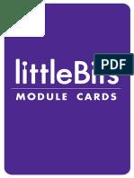 littlebits module cards