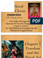 Our Moral Life in Christ Didache Series Chapter 03 Freedom and the Moral Act