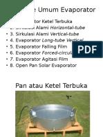 Ppt Jenis2 Evaporator