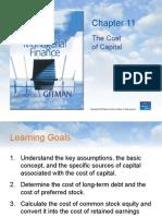 Manajemen Keuangan - Cost of Capital