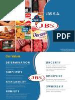 JBS Institutional Presentation including 3Q16 results