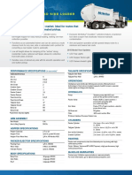 Manual Automated Spec Perfornance Sheet