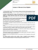 L'Unione Europea e il Mercato Unico Digitale - Il Mascalzone del 16 novembre 2016