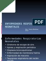 Enfermedades Respiratorias Neonatales 1