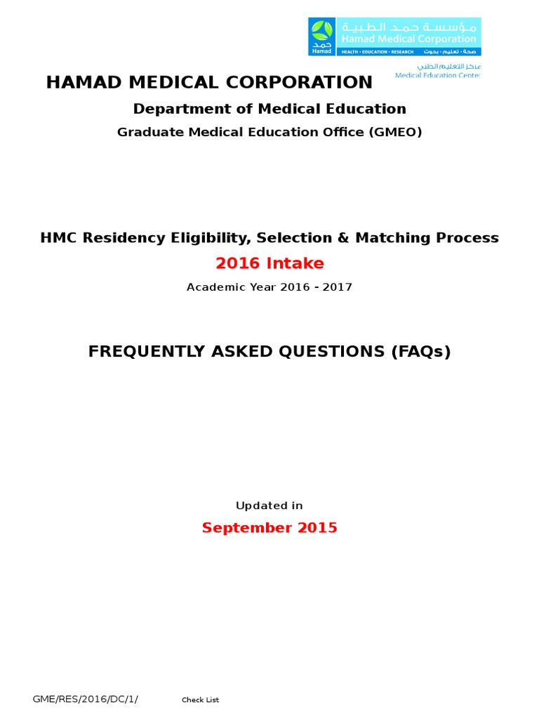 2-FAQs (2) | United States Medical Licensing Examination | Residency