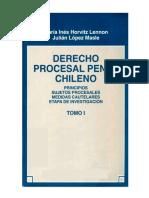 Derecho Procesal Penal Chileno - Tomo I