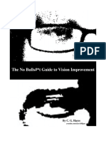 No BS Guide to Vision Improvement - Sept 2016