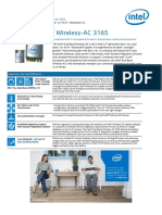 Dual Band Wireless Ac 3165 Brief