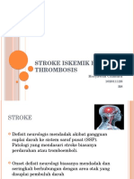 Stroke Iskemik ec Thrombosis.pptx