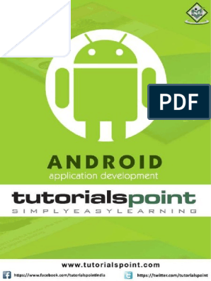 Android Tutorial | Android (Operating System) | Software