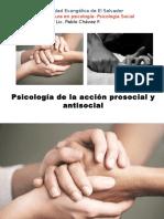 Psicología Social 8 Acción Prosocial y Antisocial