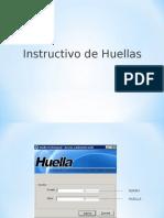 Instrutivo Huella