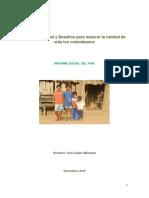 Informe Social en Colombia