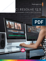 DaVinci Resolve 12 Configuration Guide