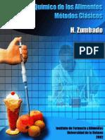 Análisis Químico de Los Alimentos Métodos Clásicos