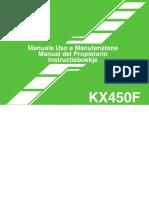 Manual Kawa 450