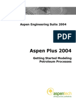 APLUS 2004 Getting Started Petroleum