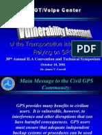 Gps Vulnerability
