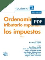 Ordenamiento Tributario Espan_ol Los Impuestos, Ed. 2015