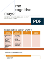 Trastorno Neurocognitivo Mayor