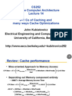 Caches and Memory