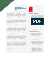 Clasificación Internacional Del Funcionamiento