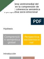 El Rol Del Área Ventromedial Del Prefrontal En