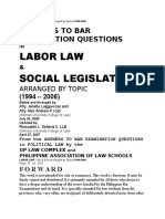Labor Law Qanda