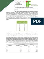 Lista de Exercícios de Estatística Aplicada a Química Analítica.docx