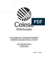 Distribuicao Materiais Homologados Pela Dven 23-08-2016