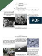 Trítico de La Memoria Sobre La Desaparición Forzada en Mexico