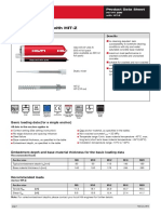 2014 Hilti Hit-hy 200 With Hit-z