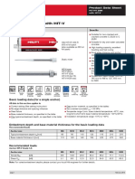 2013 Hilti Hit-hy 200 With Hit-V