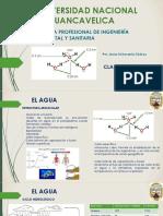 Universidad Nacional de Huancavelica 1 El Agua PDF (1)