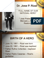 103202922 Rizal Chapter 1 Advent of a National Hero