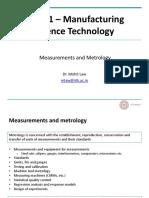 ME361_Meaurements_&_Metrology